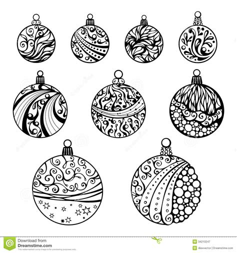 christmas balls isolated white background royalty free stock photography image 34210247