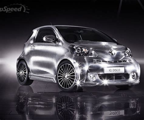 toyota iq disco car party   intersection
