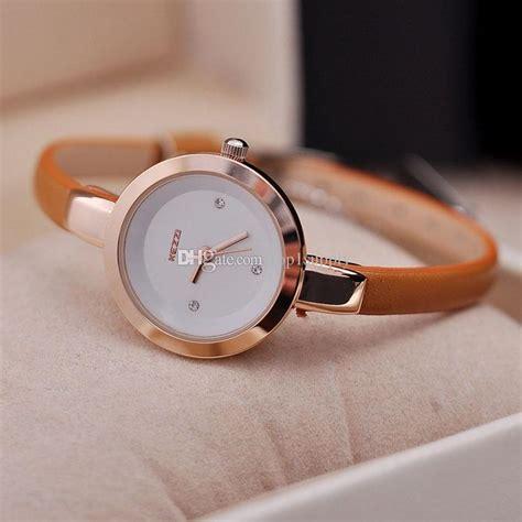 New Design Tas Wanita Fossil 2in1 top kezzi brand leather watches dress relogio gift clock designer