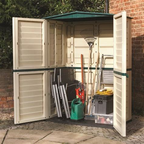 Shed 5 X 3 5 x 3 plastic shed 1510mm x 830mm shedsfirst