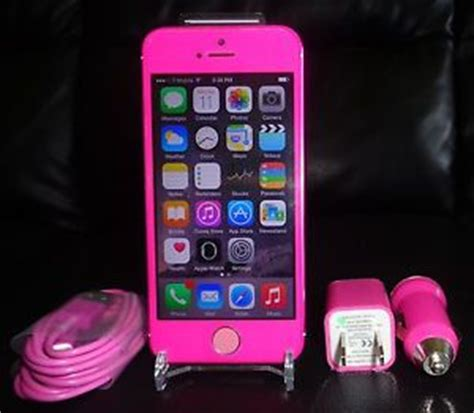iphone 5s metro pcs apple iphone 5s 16gb pink white verizon t mobile at t