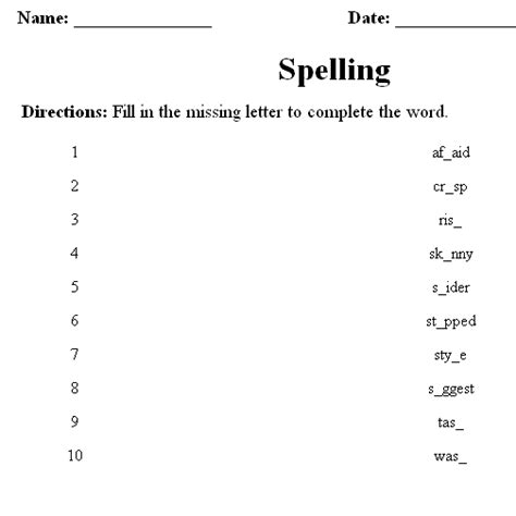 Spelling Words Printable Worksheets by Spelling Learning Worksheets Nounorama Jumbled Words