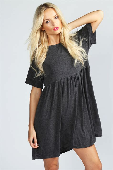 Womens Dressers by Boohoo Womens Ruby Oversized Sleeve Smock