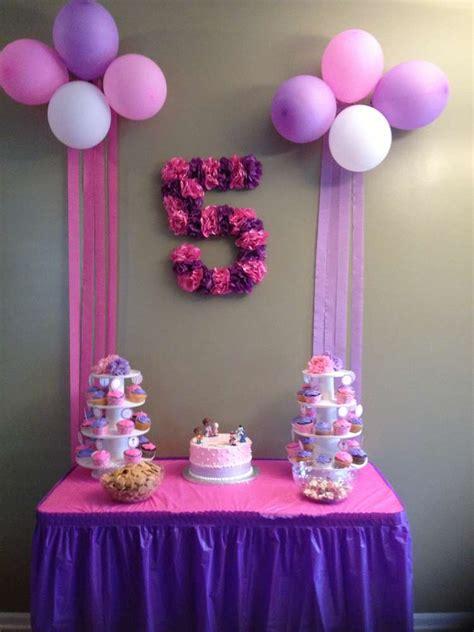 Birthday Decoration Ideas Doc Mcstuffins Birthday Ideas Photo 3 Of 14