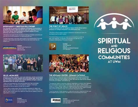 10 Religious Brochures Sle Templates Free Religious Brochure Templates
