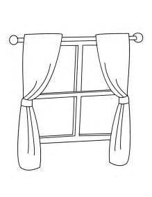 Window Coloring Pages  GetColoringPagescom sketch template