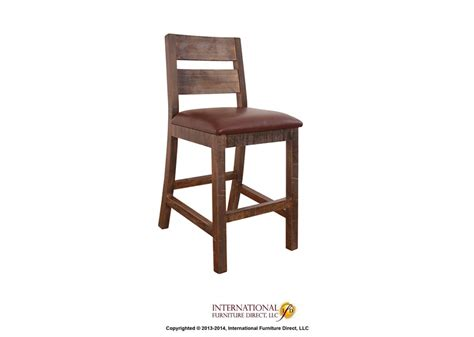 dining room bar stools antique 30 quot bartstool by international furniture direct furniture