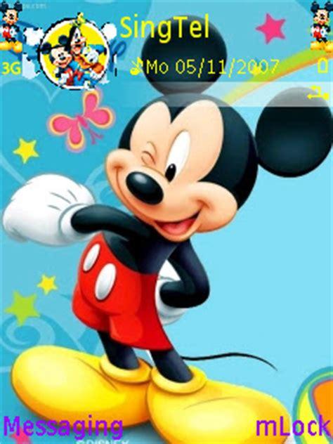 theme nokia c3 mickey mouse ponselkita