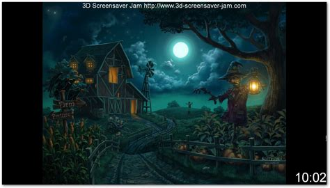 free animated halloween wallpapers for windows 7 free screensavers wallpaper halloween wallpapersafari