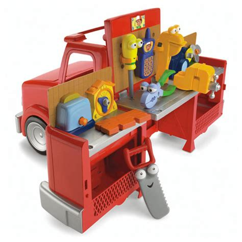 handy manny tool bench fisher price disney handy manny truck deluxe set free ebay