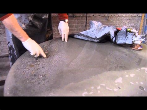 polishing concrete countertops