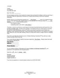 Letter For Lease Renewal Renewal Notice Letter Sle Bagnas Nonrenewal Of Lease Letter Documents