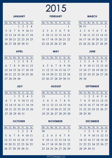 printable calendar grid 2015 15 2015 calendar printable design images design 2015