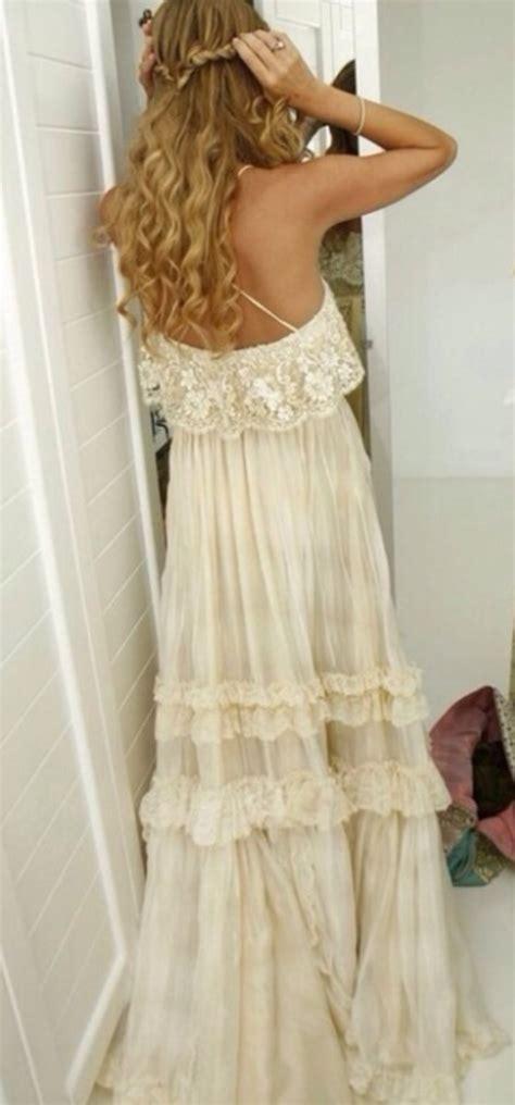 Hippie Kitchen dress hippie boho vintage lace dress gypsy wedding