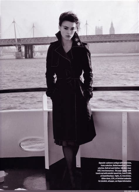 Vogue Uk Celebrates Keira Knightleys Coming Of Age In October 07 Issue by Vogue Uk Hq Keira Knightley Photo 2000924 Fanpop