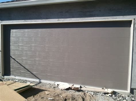 Amarr Stratford 3000 Flush Panel Garage Door In Terratone Flush Panel Garage Door