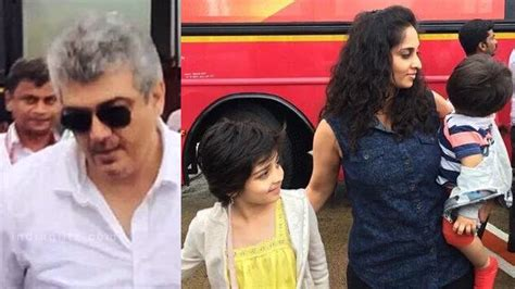 actor ajith mit tamil actor ajith family photos www pixshark