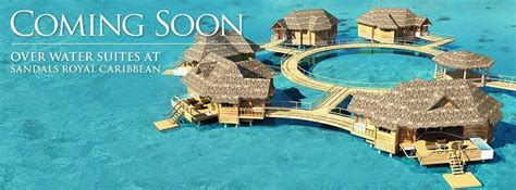 sandals to open overwater bungalow suites in jamaica the water bungalows sandals 28 images sandals royal