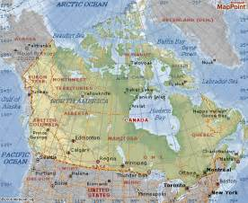 canada latitude map canada map and canada geographical map