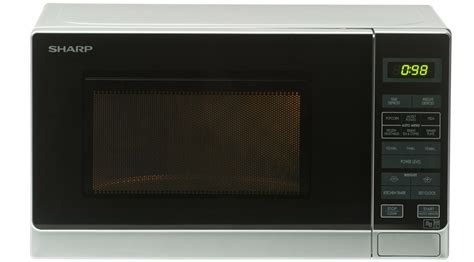 Sharp R249in Microwave Sharp R272slm 20l 800w Freestanding Microwave In Silver Appliances Direct