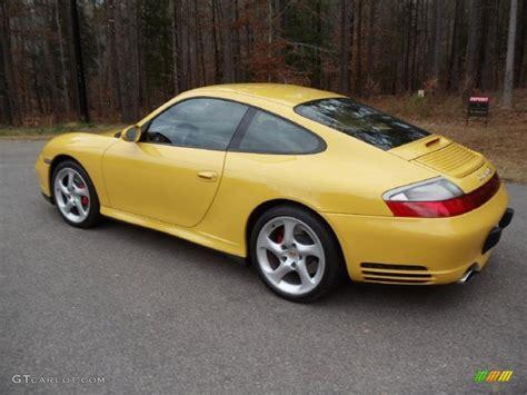 porsche 911 4s 2004 speed yellow 2004 porsche 911 4s coupe exterior