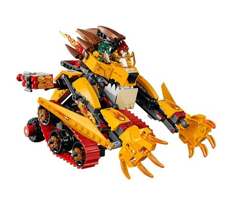 what s in a lava l lego chima 70144 laval fiery building kit