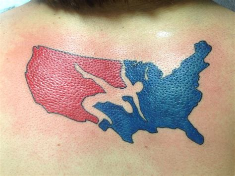 usa wrestling tattoo designs best 25 tattoos ideas on lucha