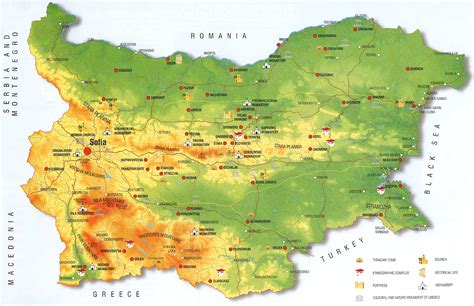 map of bulgaria folkcostume embroidery costume of sofia area shope region bulgaria