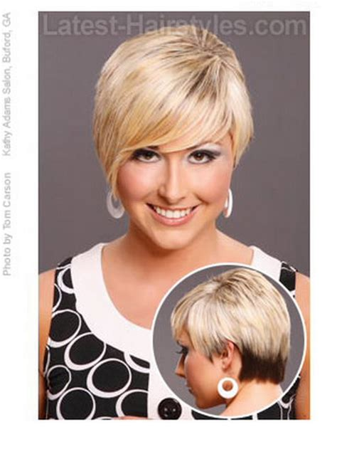 hairstyles women over 50 round face bangs short hairstyles for women over 50 with round faces