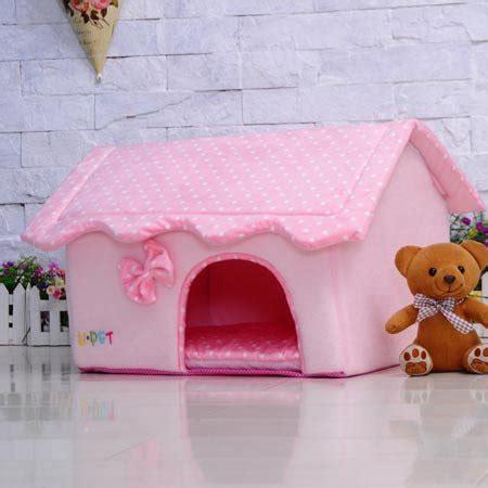 chihuahua dog houses bosun tm cute folding small pet dog house soft foams padded