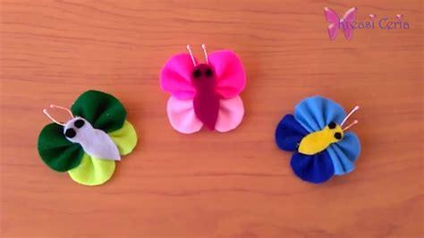 cara membuat lu hias flanel cara membuat bross kupu kupu dari kain flanel youtube