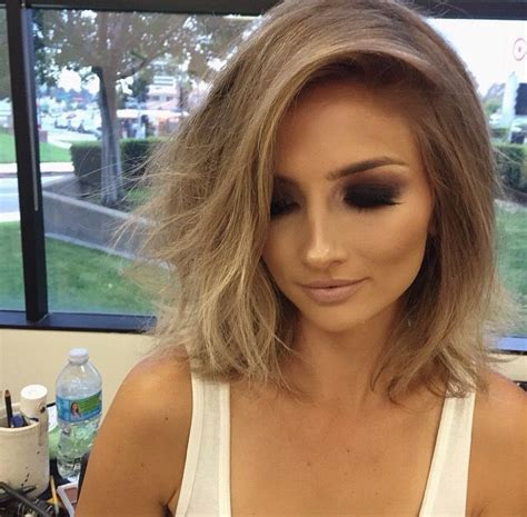 dark blond with mahogany lowlights olive skin pic best 25 short light brown hair ideas on pinterest light