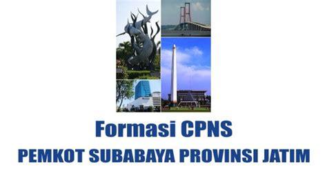 formasi lowongan cpns pemkot surabaya jatim info cpns resmi