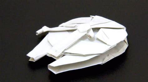 Origami Millenium Falcon - millennium falcon origami