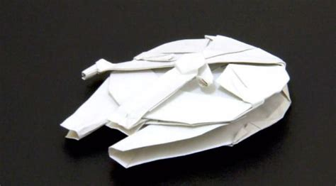 Millennium Falcon Origami - millennium falcon origami