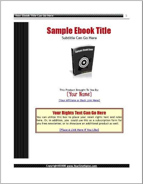 open office templates for books ez ebook template package make the most out of open