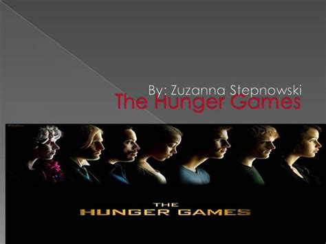 hunger games themes powerpoint the hunger games authorstream