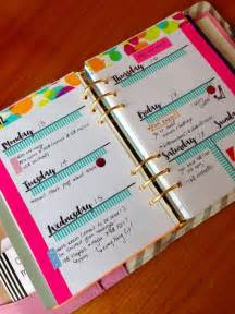 Create Your Own Personal Planner printed cursive personal weekly inserts planner