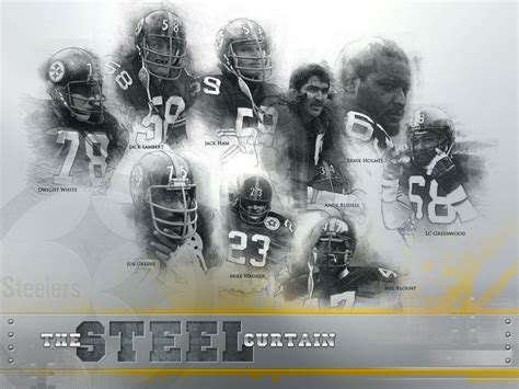 pittsburgh steelers iron curtain the iron curtain steelers 28 images collectors world