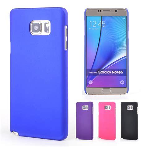 Casing Cover Samsung Galaxy Note 5 Hardcase Back Rearth Ringke Slim 1 aliexpress buy note 5 rubberized plastic for samsung galaxy note 5