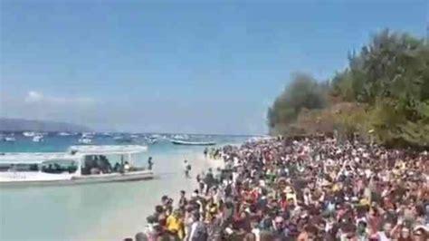 ferry ke bali perjalanan darat wisatawan dan relawan ke lombok kembali