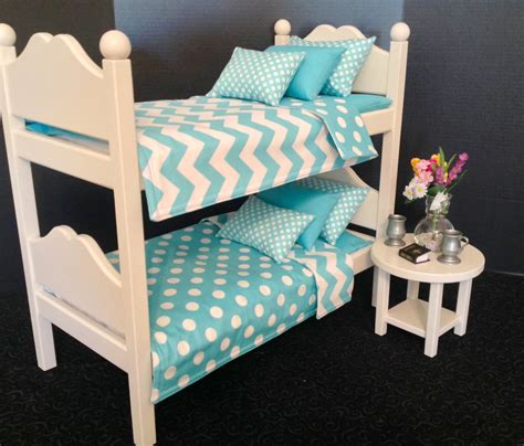 American Doll Bunk Bed by American Boy Doll Furniture Doll Bunk Bed By