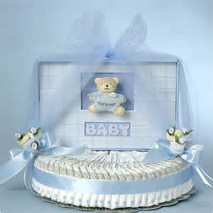 Christening Blankets Personalized Quot Forever Baby Diaper Cake Quot Boy