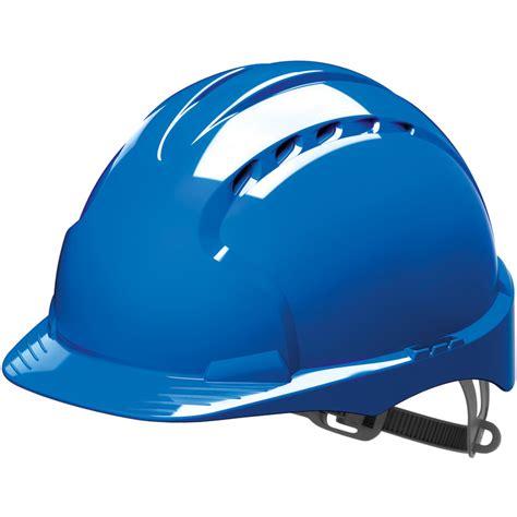Safety Helm jsp evo2 adjustable safety helmet blue