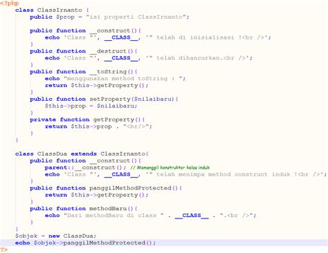 tutorial php oo php object oriented programming tutorial phpsourcecode net