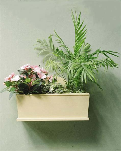 Large Outdoor Wall Planters Wall Planter