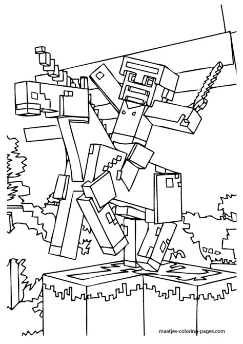 mindcraft coloring pages printable minecraft coloring pages coloring home