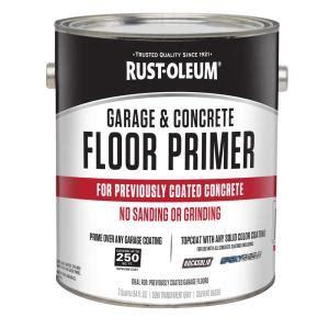 rust oleum 1 2 gal garage and concrete floor primer case