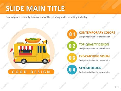Food Truck Ppt Goodpello Food Truck Powerpoint Templates