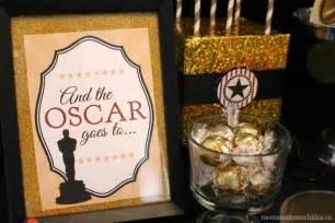 Oscar Favors by Oscar Ideas Free Printables Munchkins